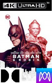 Batman & Robin - Vudu 4K or iTunes 4K via MA (Digital Code)