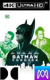 Batman Forever - Vudu 4K or iTunes 4K via MA (Digital Code)