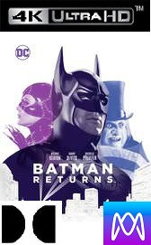 Batman Returns - Vudu 4K or iTunes 4K via MA (Digital Code)