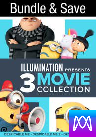 Poster for Despicable Me 1-3 - Vudu HD - (Instawatch)