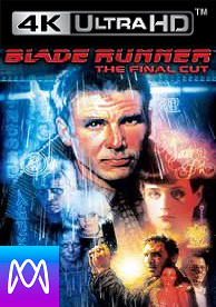 Blade Runner: The Final Cut - Vudu UHD 4K and iTunes 4k via MA (Digital Code)