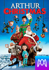 Arthur Christmas - Vudu SD or iTunes SD via MA (Digital Code)