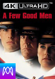 A Few Good Men - Vudu UHD HD4K or iTunes 4K via MA (Digital Code)