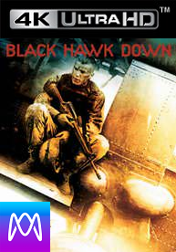 Black Hawk Down - Vudu UHD 4K or iTunes 4K via MA (Digital Code)