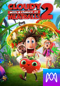 Cloudy With a Chance of Meatballs 2 - Vudu SD or iTunes SD via MA (Digital Code)