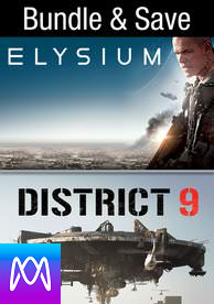 Elysium/District 9 - Vudu HD or iTunes HD via MA (Digital Code)
