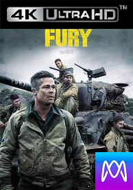 Fury - Vudu UHD 4K or iTunes 4K via MA (Digital Code)