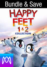 Happy Feet/Happy Feet 2 - Vudu HD or iTunes HD via MA (Digital Code)