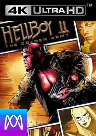 Hellboy 2: The Golden Army - Vudu 4K or iTunes 4K - (Digital Code)