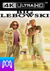 Big Lebowski - Vudu UHD 4K or iTunes 4K via MA - (Digital Code)
