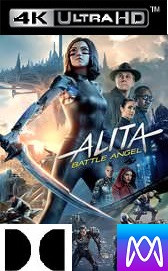Alita: Battle Angel - Vudu 4K or iTunes 4K via MA - (Digital Code)