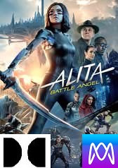 Alita: Battle Angel - Vudu HD or iTunes HD via MA (Digital Code)