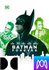 Batman Forever - Vudu HD or iTunes HD via MA - (Digital Code)
