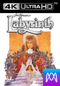 LABYRINTH - Vudu HD or iTunes 4K via MA - (Digital Code) Please Read Description