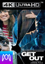 Get Out - Vudu HD4K / UHD - (Digital Code)