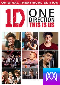 One Direction: This is Us - Vudu SD or iTunes SD via MA - (Digital Code)