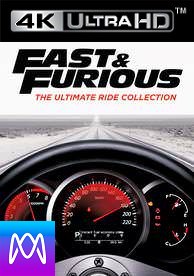 Fast and Furious: 8 Movie Collection -  HD4K / UHD - (Digital Code) PLEASE READ DESCRIPTION