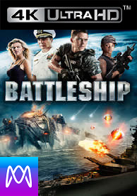 Battleship - Vudu HD4K / UHD - (Digital Code) Please Read Description