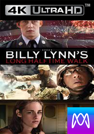 Billy Lynn's Long Half-time Walk - HD4K / UHD - (Digital Code) Please Read Description
