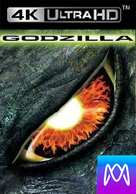 Godzilla (1998) - Vudu HD4K / UHD or iTunes 4K via MA - (Digital Code)