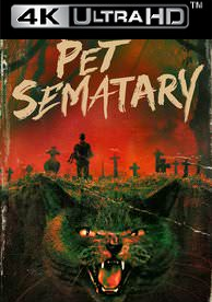 Pet Sematary (1989) - Vudu HD4K / UHD (Digital Code)