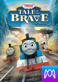 Thomas & Friends: Tale of the Brave - Vudu HD or iTunes HD via iTunes - (Digital Code) Must Be Redeemed in iTunes First!