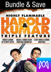 Harold and Kumar Trilogy - Vudu HD or iTunes HD via MA - (Digital Code) PLEASE READ DESCRIPTION