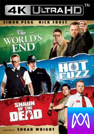 Cornetto Trilogy - Vudu HD4K / UHD - (Digital Code) PLEASE READ DESCRIPTION