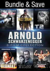 Arnold Schwarzeneggar 6-Film Collection - Vudu HD - (Digital Code)