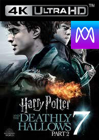 Harry Potter And The Deathly Hallows Part 2 - Vudu HD4K / UHD (Digital Code)