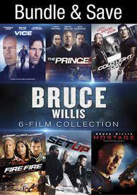 Bruce Willis 6-Film Collection - Vudu HD - (Digital Code)
