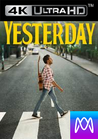Yesterday - Vudu HD4K or iTunes 4K via MA - (Digital Code)