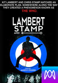 Lambert and Stamp - Vudu SD or iTunes SD via MA - (Digital Code)