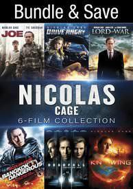 Nicolas Cage: 6-Film Collection - Vudu HD - (Digital Code)