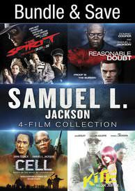 Samuel L. Jackson: 4-Film Collection - Vudu HD - (Digital Code)