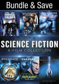 Science Fiction: 6-Film Collection - Vudu HD - (Digital Code)