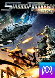 Starship Troopers: Invasion - Vudu SD or iTunes SD via MA - (Digital Code)