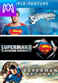 Superman Trilogy - Vudu HD or iTunes HD via MA - (Digital Code)