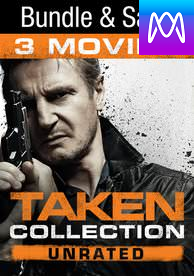 Taken Trilogy (Rated) - Vudu HD or iTunes HD via MA - (Digital Code)