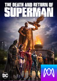Death and Return of Superman - Vudu HD or iTunes HD via MA - (Digital Code)