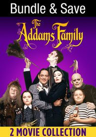 Adams Family 2-Movie Feature - Vudu HD - (Instawatch)