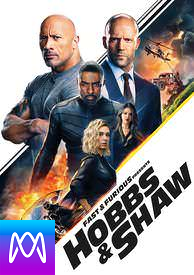 Fast and Furious Presents Hobbs and Shaw - Vudu HD or iTunes HD via MA - (Digital Code)