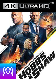 Fast and Furious Presents Hobbs and Shaw - HD4K / UHD - (Digital Code)
