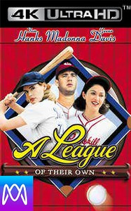 A League of Their Own - Vudu HD4k or iTunes 4K - (Digital Code)