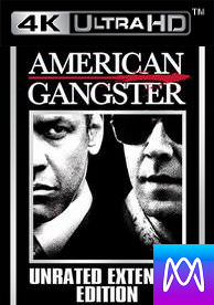 American Gangster (Unrated) - Vudu HD4K / UHD - (Digital Code)