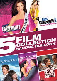 5 Film Collection: Sandra Bullock - Vudu SD - (Digital Code)