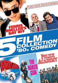 5 Film Collection: 80's Comedy - Vudu SD - (Digital Code)