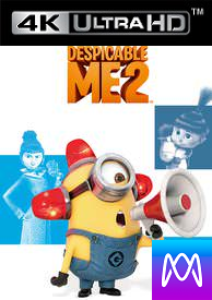 Despicable Me 2 - iTunes 4K (Digital Code)