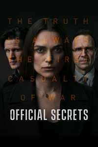 Official Secrets - Vudu HD - (Digital Code) EARLY RELEASE!
