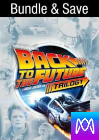 Back to the Future Trilogy - Vudu HD or iTunes HD via MA - (Digital Code)